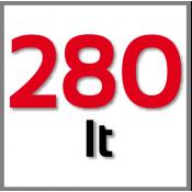 280 Litres