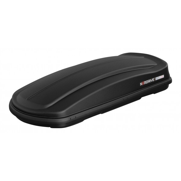 Box 430, ABS roof box, 430 ltrs - Embossed Black